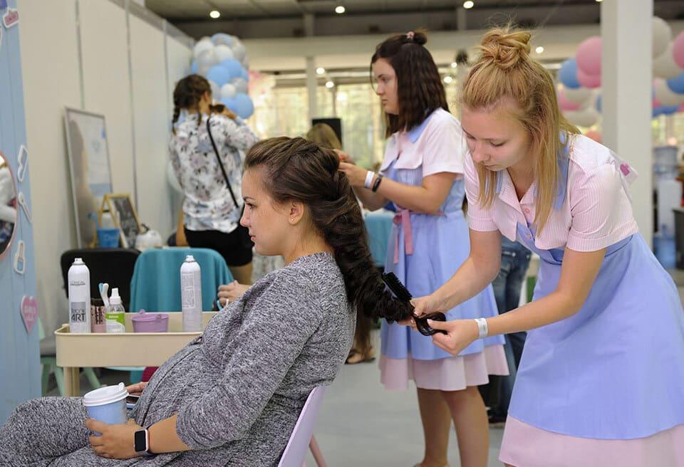 De halter av kemikalier som finns i hårfärg är låga