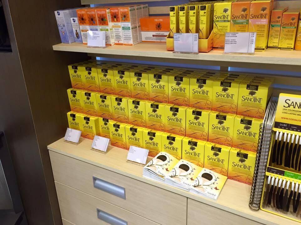 Sanotint hårdvård, produkter